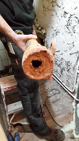 Toilet verbouwing oude afvoerpijp diameter