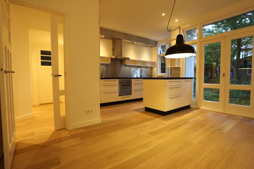 Archimedeslaan totale huis renovatieproject - Keuken - Na foto