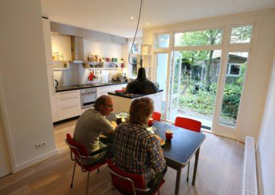 Archimedeslaan totale huis renovatieproject - Keuken - Enkele weken later
