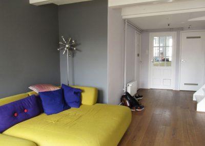 Spuistraat huis renovatie project - Na foto