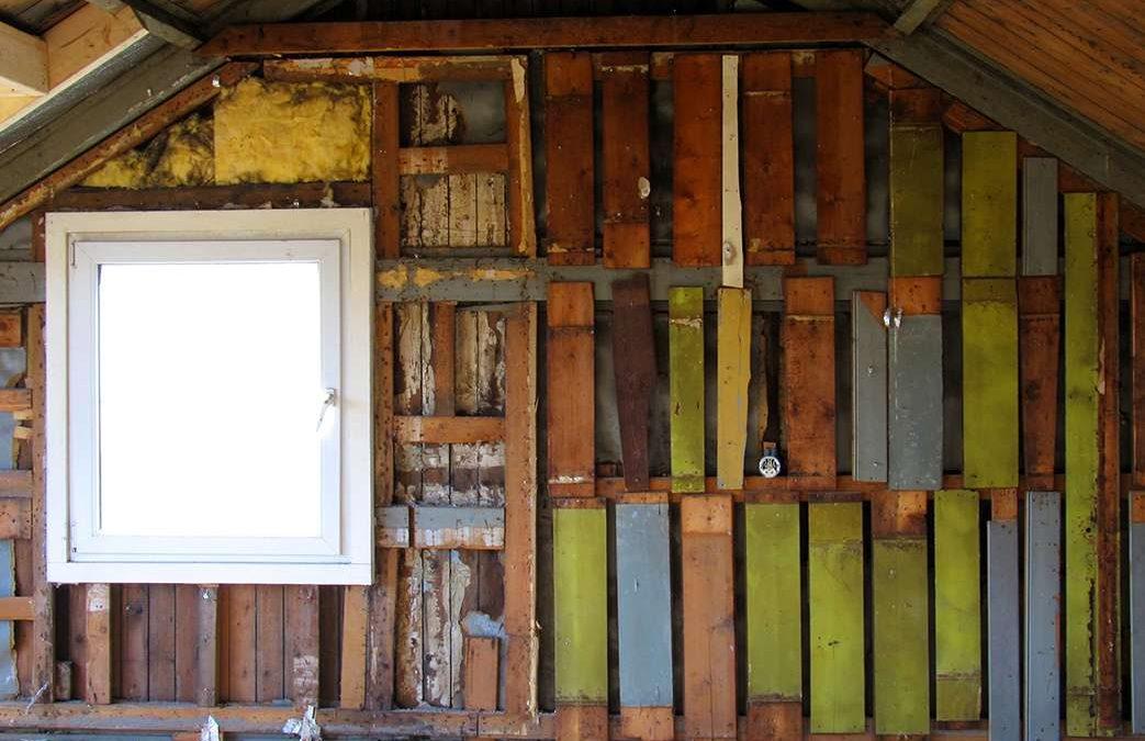 Zuiddijk totale huis verbouwing project - zolder voor foto