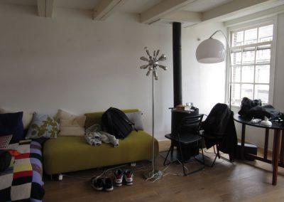 Spuistraat huis renovatie project - Voor foto - 2