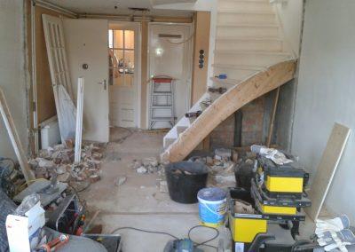 Spuistraat huis renovatie project - Voor foto - 5