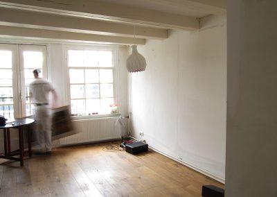 Spuistraat huis renovatie project - Vitalie aan het werk