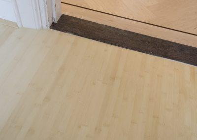 Minervalaan bamboe vloer leggen project - Na foto - 4
