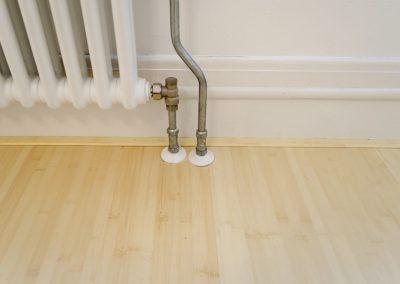 Minervalaan bamboe vloer leggen project - Na foto - 5