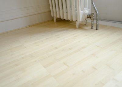 Minervalaan bamboe vloer leggen project - Na foto - 6