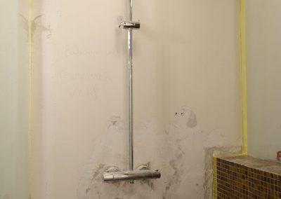 Ruysdaelkade badkamer inloopdouche renovatie project - Voor foto - 1