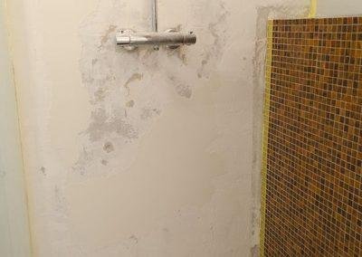 Ruysdaelkade badkamer inloopdouche renovatie project - Voor foto - 2