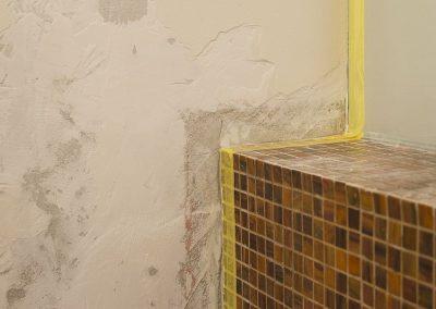 Ruysdaelkade badkamer inloopdouche renovatie project - Voor foto - 3