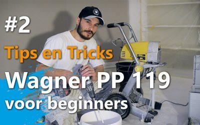 Wagner Project Pro 119 voor beginners – Voorbereidingswijze en spuittechniek