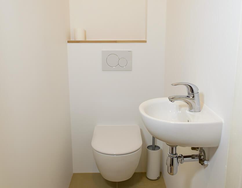 Toilet verbouwen in een kleine ruimte « vitalie interbouw