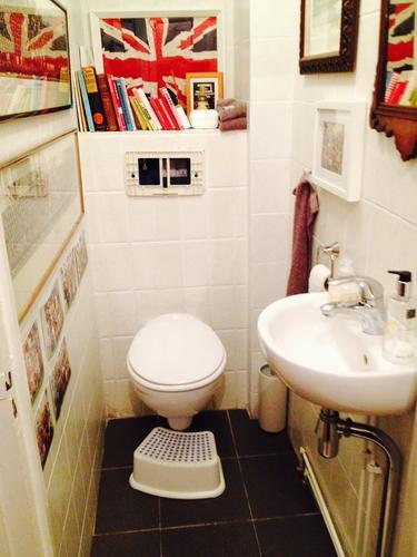 Toilet verbouwing voor foto Binnen Brouwersstraat