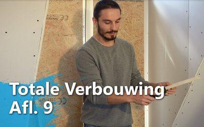 Verbouwingsevaluatie – Wand gipsen, vensterbank maken